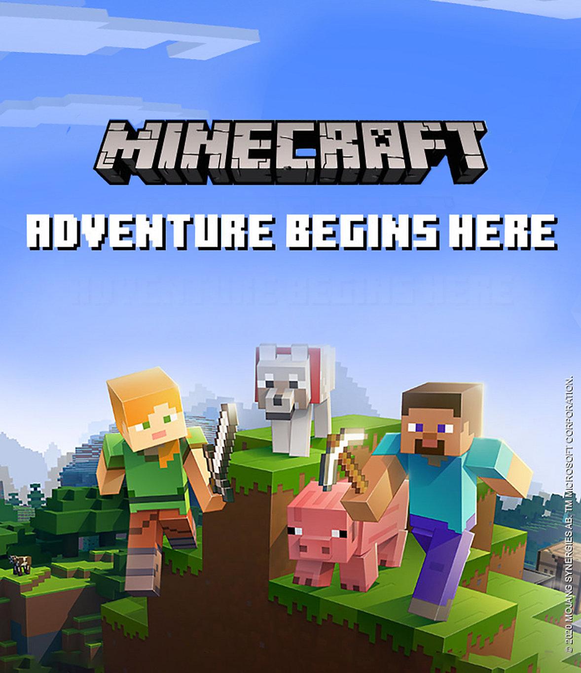 Minecraft Adventure Begins Here