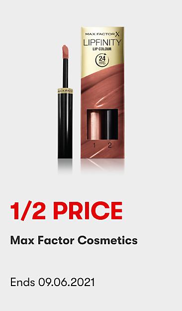 1/2 Price Max Factor Cosmetics