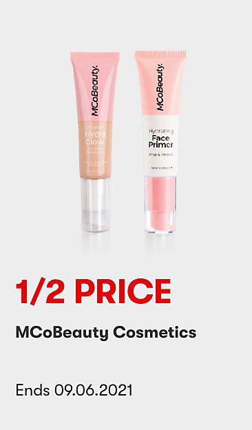 1/2 Price MCoBeauty Cosmetics