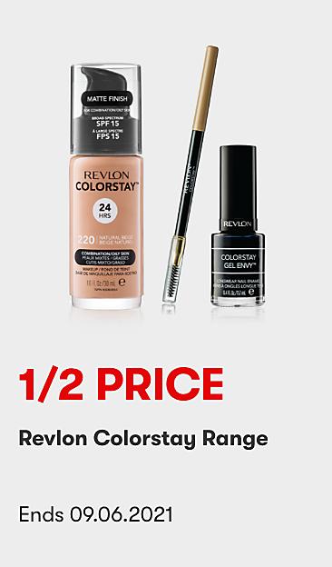 1/2 Price Revlon Colorstay Range