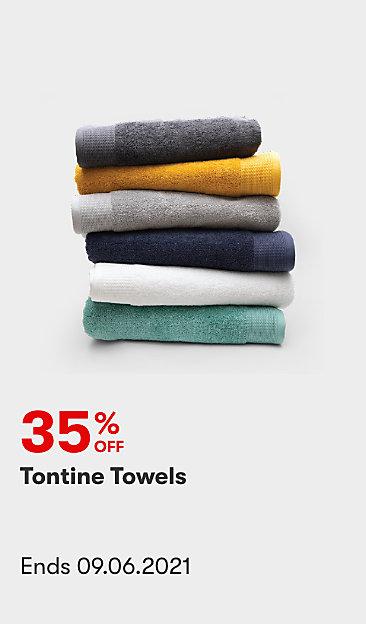35% off Tontine Towels