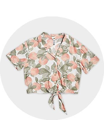 Fruit Print Shirt