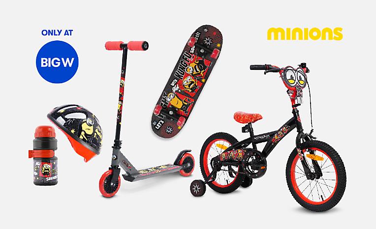 Minions Bikes, Scooters & Skates
