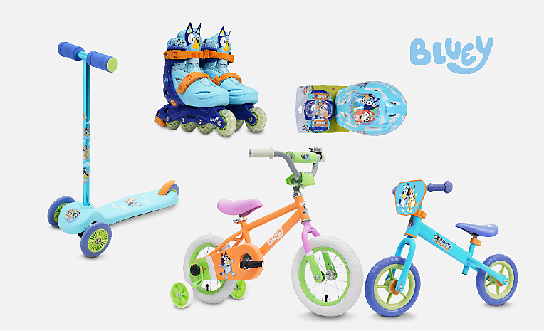 Blue Bikes, Scooters & Skates