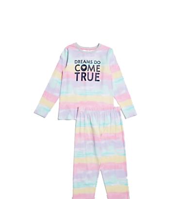 rainbow kids pyjama set