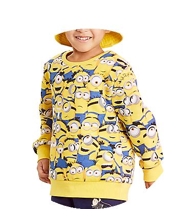 yellow kids minions jumper