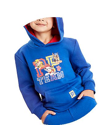 blue kids paw patrol hoodie