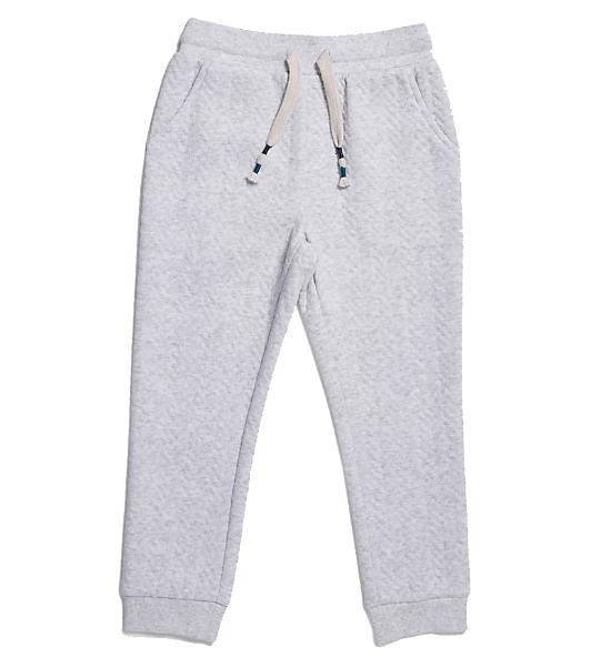 grey kids track pants