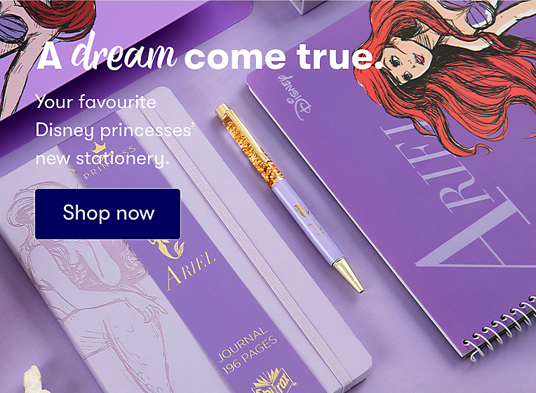 Shop New Disney Princess Stationery