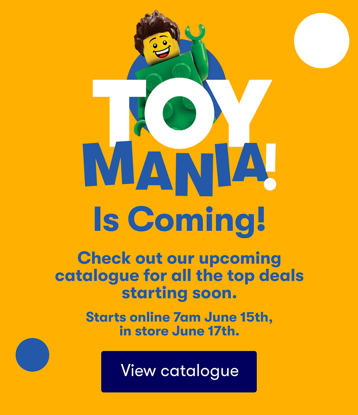 Toy Mania Coming Soon