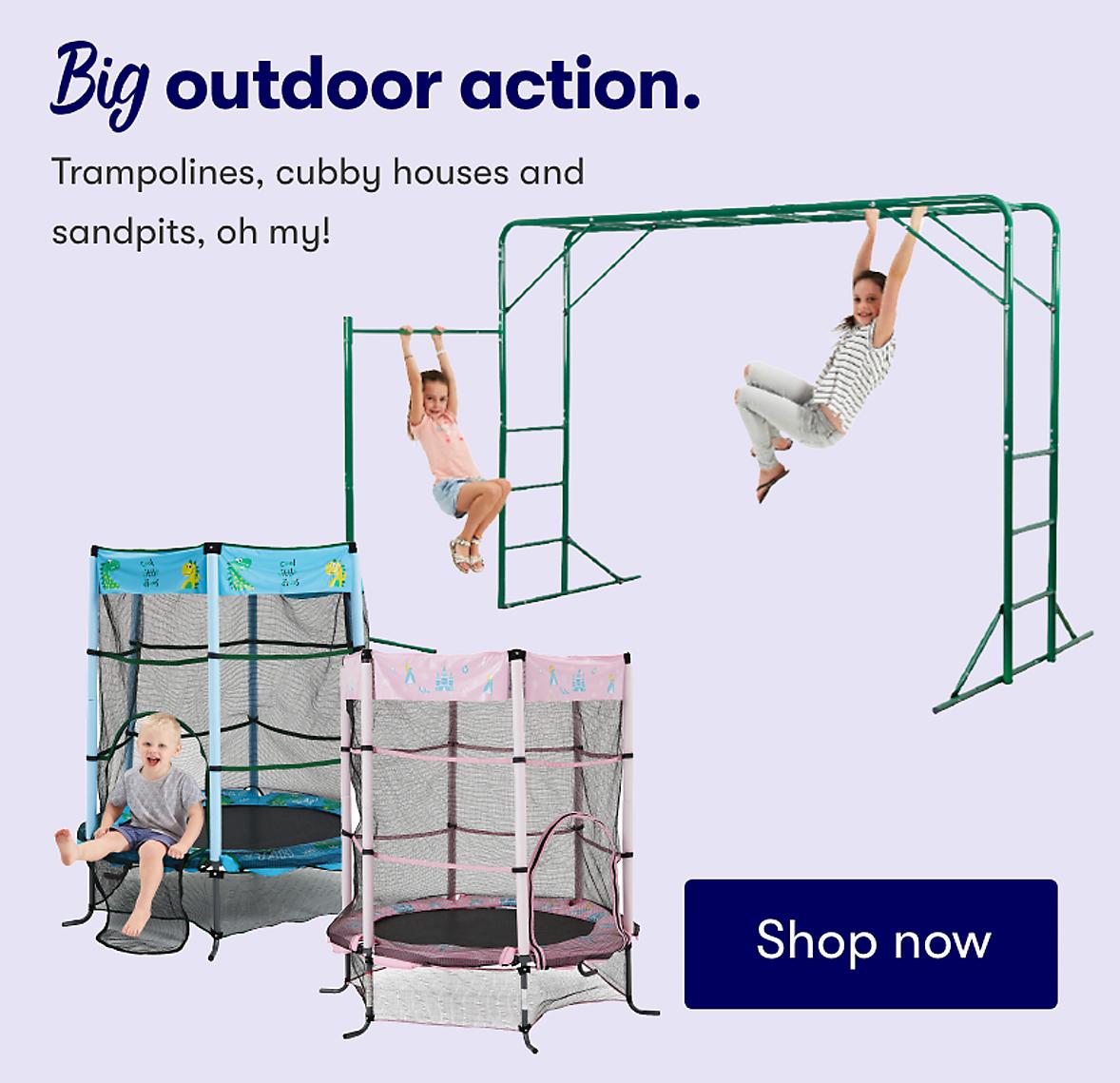 Big outdoor action