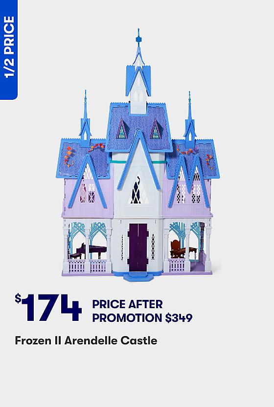 Half Price Frozen 2 Arendelle Castle