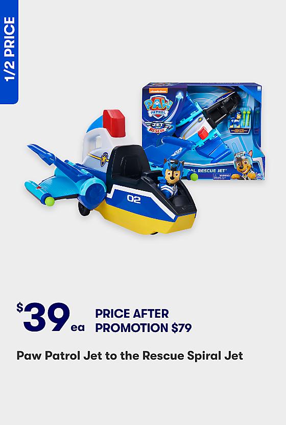 Half Price Paw Patrol Spiral Jet