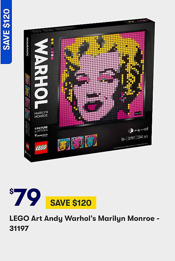 Save on Andy Warhol Art LEGO