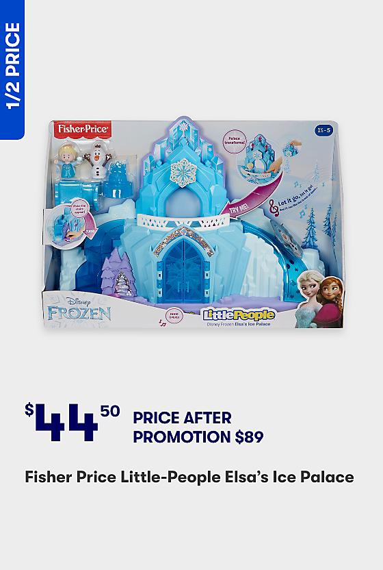 Half Price Elsa's FP Ice Castle