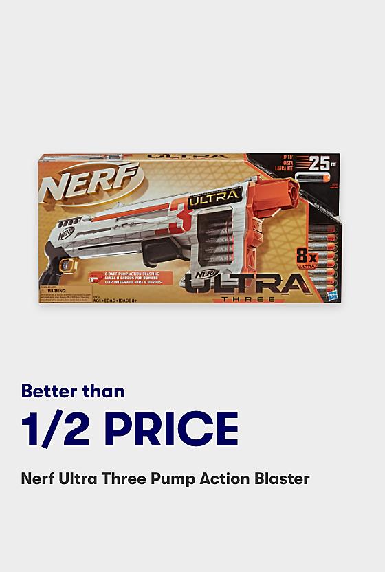 Half price Nerf Blaster