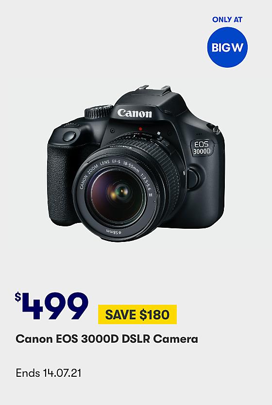 Canon EOS 3000D SLR