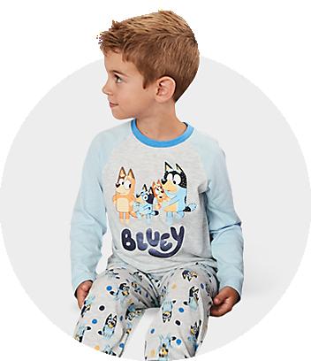 Blue kids pyjamas