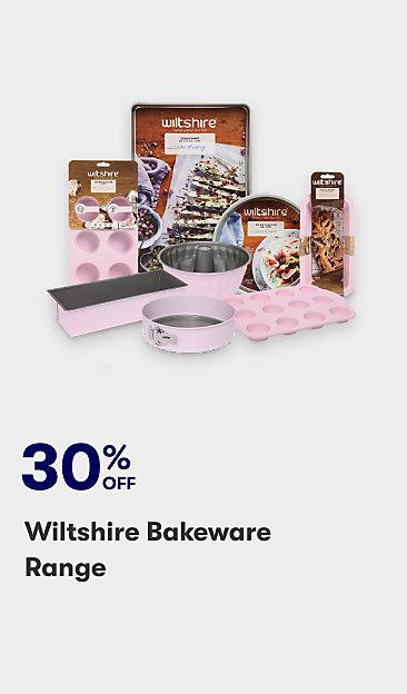 30% off Wiltshire bakeware range