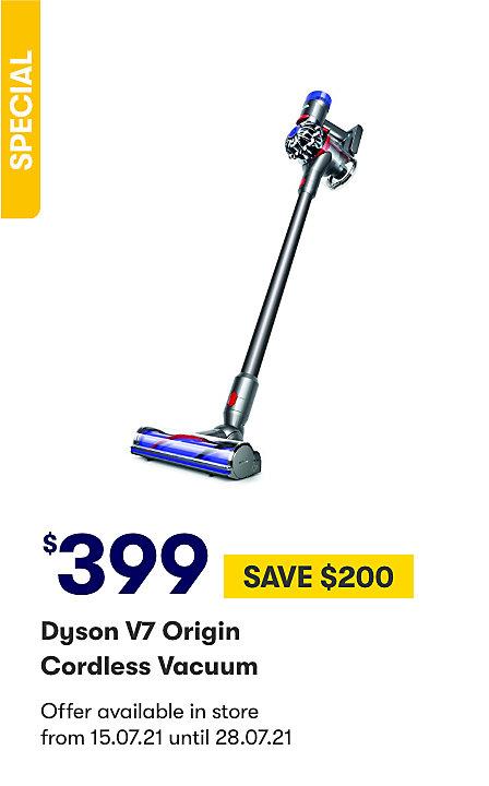 Dyson V7 Origin Handstick $399 save $200