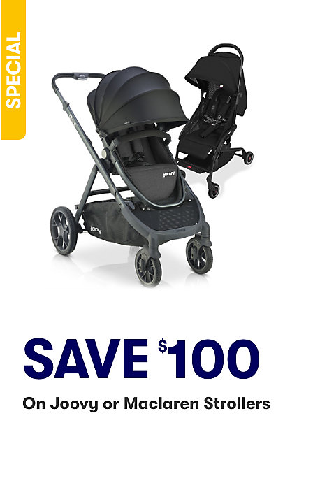 Save on selected Strollers