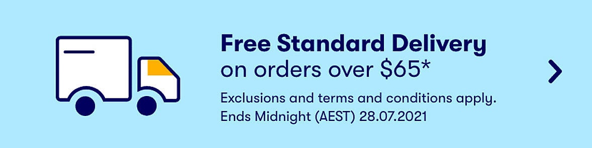 Free Delivery on orders over $65