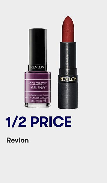 1/2 price Revlon