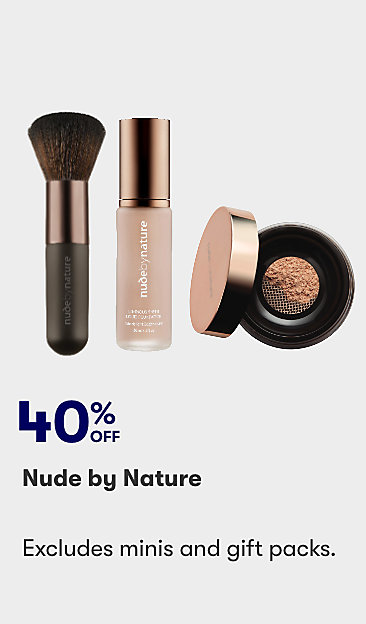 40% off Nude by Nature