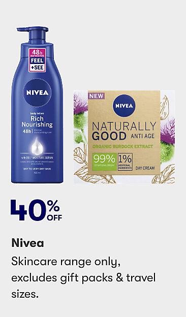 40% off Nivea