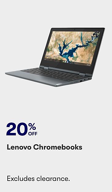 20% off Lenovo Chromebooks
