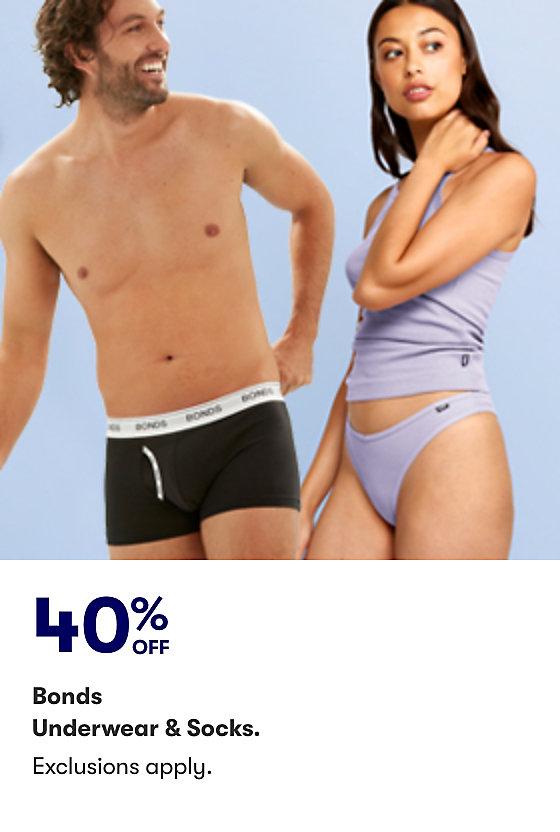 Save on Bonds Underwear and Socks