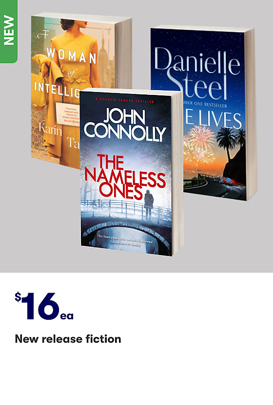 Save on New Release Fiction