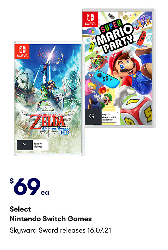 New release Nintendo Switch Games