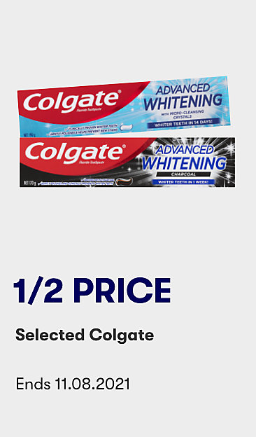 1/2 price selected Colgate