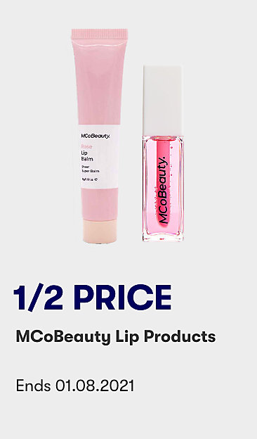 1/2 price MCoBeauty lip products