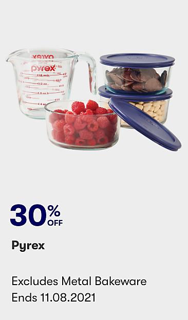 30% off Pyrex