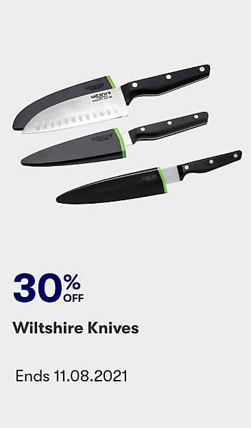 30% off Wiltshire knives