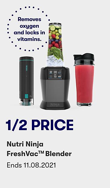 1/2 price Nutri Ninja FreshVac Blender