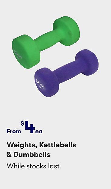 Weights, Kettlebells & Dumbbells