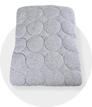 Dymples Baby Grey Bedding