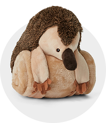Dymples Baby Brown Echidna Blanket