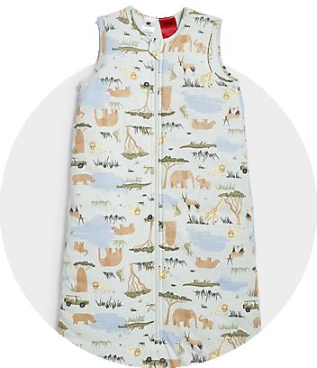 Dymples Baby Print Sleeping Bag