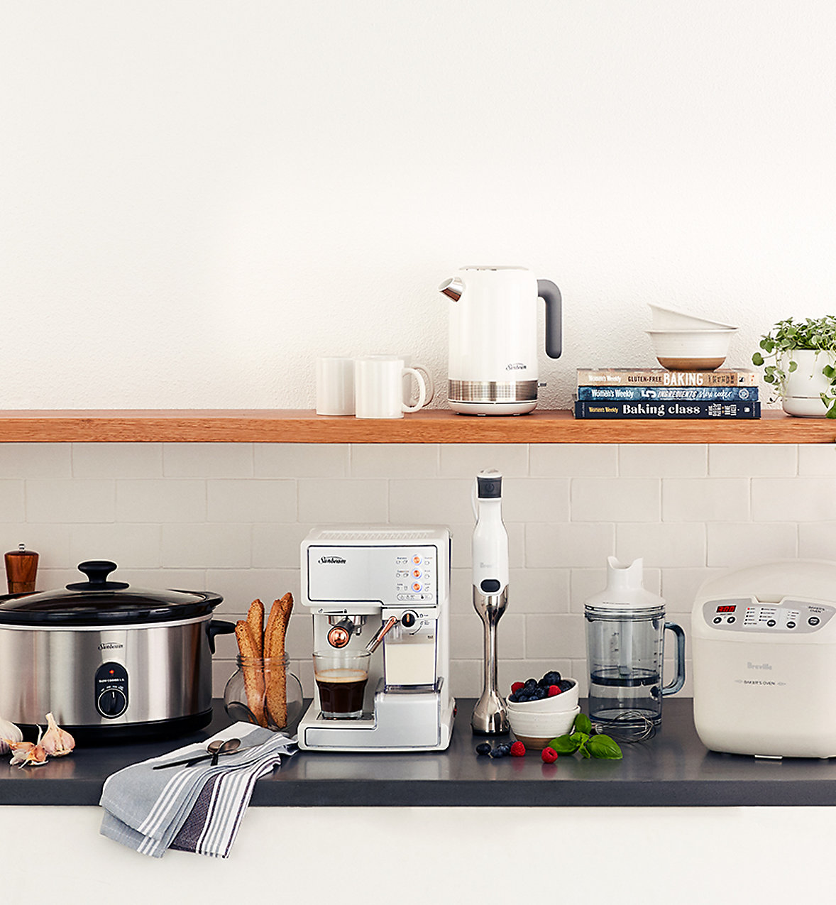 Kitchen Champions. Win every mealtime with these appliance deals.