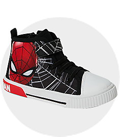 Spider-Man High Top Shoes