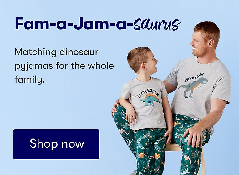 Fam Jams Pyjamas Dinosaur Collection