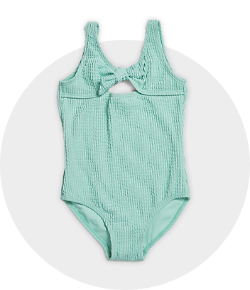 Green One Piece Swimsuit
