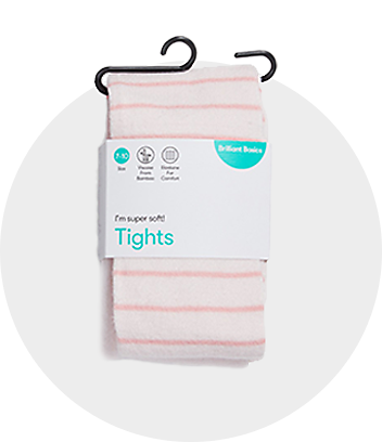 Girls Stripe Tights