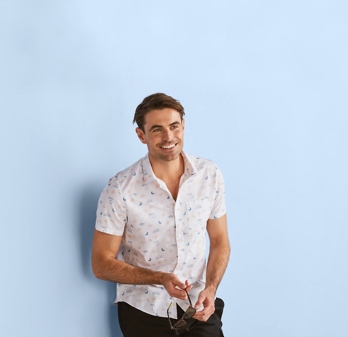 mens warm weather clothing