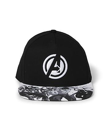 avengers black kids cap