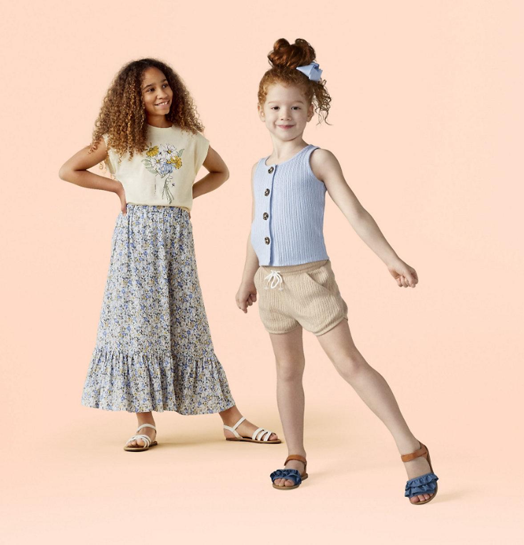 k-d girls clothes